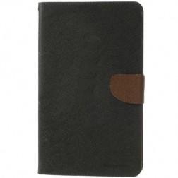 """""""Mercury"""" Fancy atverčiamas dėklas - juodai rudas (Galaxy Tab Pro 8.4)"""