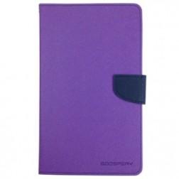 """""""Mercury"""" Fancy atverčiamas dėklas - violetinis (Galaxy Tab Pro 8.4)"""