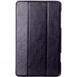 Atverčiamas odinis dėklas - juodas (Galaxy Tab S 8.4)