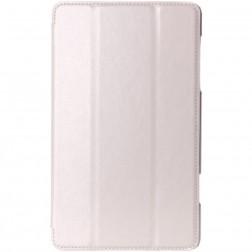 Atverčiamas odinis dėklas - smėlio spalvos (Galaxy Tab S 8.4)