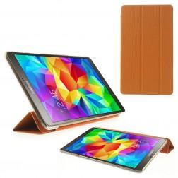 Atverčiamas dėklas - oranžinis (Galaxy Tab S 8.4)