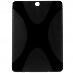 Kieto silikono (TPU) dėklas - juodas (Galaxy Tab S2 9.7 / Galaxy Tab S2 VE 9.7)