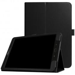 """""""Litchi"""" atverčiamas dėklas - juodas (Galaxy Tab S3 9.7)"""
