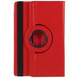 Atverčiamas dėklas (360°) - raudonas (Galaxy Tab S5e)