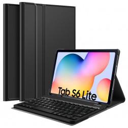 Atverčiamas dėklas su klaviatūra - juodas (Galaxy Tab S6 Lite 10.4)