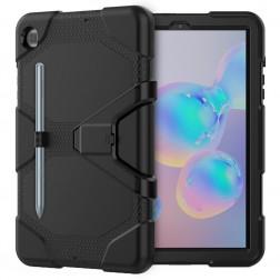 Sustiprintos apsaugos dėklas - juodas (Galaxy Tab S6 Lite 10.4)