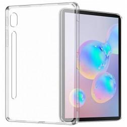 Kieto silikono (TPU) dėklas - skaidrus (Galaxy Tab S6 10.5)