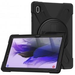 """Sustiprintos apsaugos (360°) dėklas - juodas (Galaxy Tab S7 FE 12.4"""")"""
