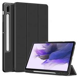 """""""Stylus"""" atverčiamas dėklas - juodas (Galaxy Tab S7 FE 12.4"""")"""