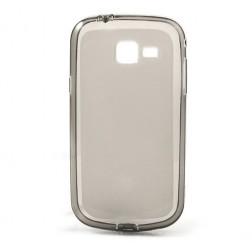 Kieto silikono dėklas - pilkas (Galaxy Trend II)