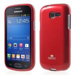 """""""Mercury"""" dėklas - raudonas (Galaxy Trend Lite)"""