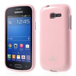 """""""Mercury"""" dėklas - šviesiai rožinis (Galaxy Trend Lite)"""