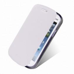 """""""Mofi"""" Rui atverčiamas dėklas - baltas (Galaxy Trend Lite)"""