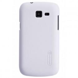 """""""Nillkin"""" Frosted Shield dėklas - baltas + apsauginė ekrano plėvelė (Galaxy Trend Lite)"""