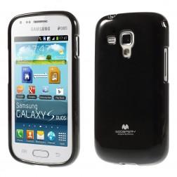 """""""Mercury"""" dėklas - juodas (Galaxy S Duos / S Duos 2 / Trend / Trend Plus)"""