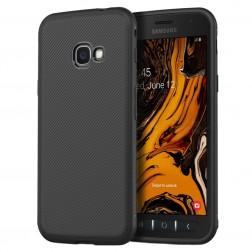 """""""Jazz"""" kieto silikono (TPU) dėklas - juodas (Galaxy Xcover 4 / 4S)"""