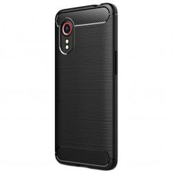 """""""Carbon"""" kieto silikono (TPU) dėklas - (Galaxy Xcover 5)"""