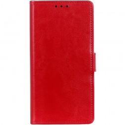 Atverčiamas dėklas, knygutė - raudonas (Galaxy XCover Pro)
