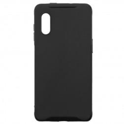 Kieto silikono (TPU) dėklas - juodas (Galaxy XCover Pro)