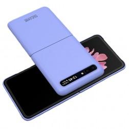 """""""GKK"""" Creative plastikinis dėklas - violetinis (Galaxy Z Flip)"""