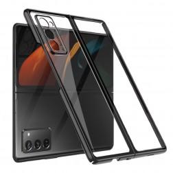 """""""GKK"""" plastikinis dėklas - skaidrus (Galaxy Z Fold2)"""
