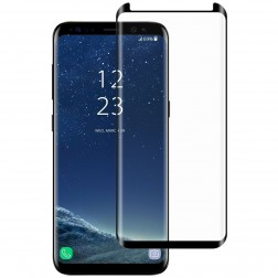 """""""Mocolo"""" Tempered Glass apsauginis ekrano stiklas 0.26 mm - juodas (Galaxy S8)"""