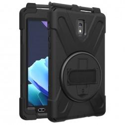 Sustiprintos apsaugos dėklas - juodas (Galaxy Tab Active 3 8.0)