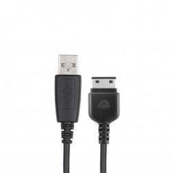 """""""Samsung"""" USB laidas - juodas (80 cm., S20-pin)"""