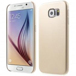 Slim Leather dėklas - smėlio spalvos  (Galaxy S6)