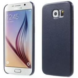 Slim Leather dėklas - tamsiai mėlynas (Galaxy S6)