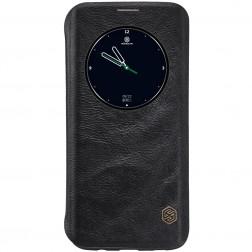 """""""Nillkin"""" Qin atverčiamas dėklas - juodas (Galaxy S7 Edge)"""