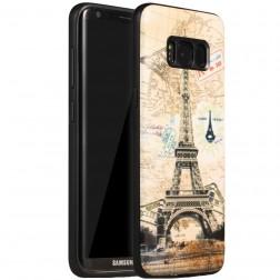 """""""My Colors"""" kieto silikono (TPU) dėklas - Eifelis (Galaxy S8)"""