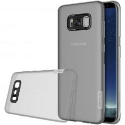 """""""Nillkin"""" Nature TPU skaidrus dėklas - pilkas (Galaxy S8)"""