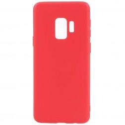 Kieto silikono (TPU) dėklas - raudonas (Galaxy S9)