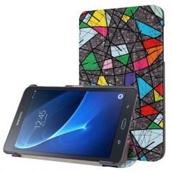 """""""Mozaika"""" atverčiamas dėklas (Galaxy Tab A 10.1 2016)"""