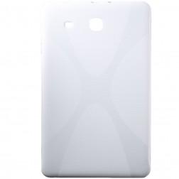 Kieto silikono (TPU) dėklas - baltas (Galaxy Tab E 9.6)