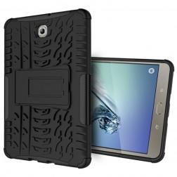 Sustiprintos apsaugos dėklas - juodas (Galaxy Tab S2 8.0)