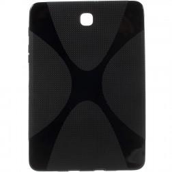 Kieto silikono (TPU) dėklas - juodas (Galaxy Tab S2 8.0)