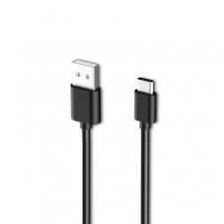 """""""Samsung"""" USB Type-C laidas - juodas (1,2 m.)"""