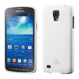 """Mercury"" dėklas - baltas (Galaxy S4 Active)"