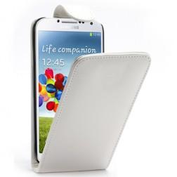 Klasikinis atverčiamas dėklas - baltas (Galaxy S4)