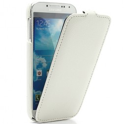 """""""Melkco"""" atverčiamas dėklas - baltas (Galaxy S4)"""