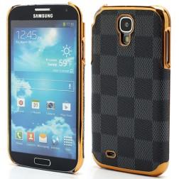 Prabangus languotas dėklas - pilkas (Galaxy S4)