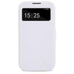 """""""Nillkin"""" Victory atverčiamas dėklas - baltas (Galaxy S4)"""