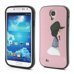 """""""iFace"""" dėklas - rožinis (Galaxy S4)"""