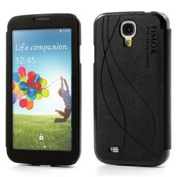 """""""Fimor"""" atverčiamas dėklas - juodas (Galaxy S4)"""