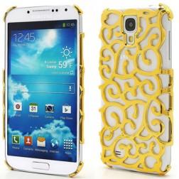 Elegantiškas dėklas - auksinis (Galaxy S4)