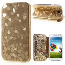 """""""Kaifuxin"""" Stone dėklas - auksinis (Galaxy S4)"""