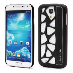 Modernus dėklas - juodas (Galaxy S4)