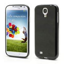 Silikoninis dėklas - juodas (Galaxy S4)
